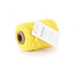 Corda in cotone Vivant - Giallo
