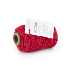 Corda in cotone Vivant - Rosso