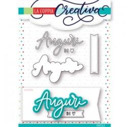 Fustella La Coppia Creativa - AUGURI 3