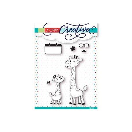 Timbri La Coppia Creativa - Giraffe
