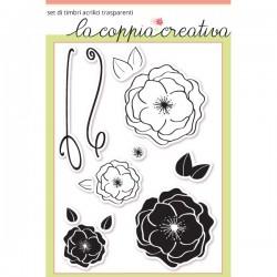 Timbri La Coppia Creativa Le rose selvatiche