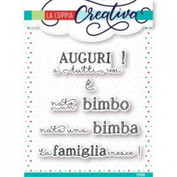 Timbri La Coppia Creativa - LA FAMIGLIA CRESCE !