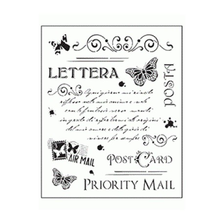 Stencil Tommy Art - Post Card