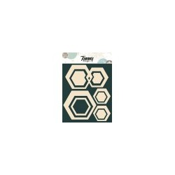 Le Sagome by Tommy Design - Cornici Esagonali