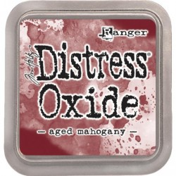 Tampone Distress Oxide - AGED MAHOGAY