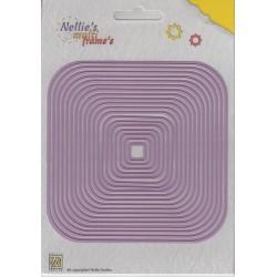 Fustella Multi Frame - Nellie Snellen - XL Square -2