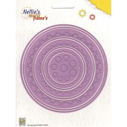 Fustella Multi Frame - Nellie Snellen - Round Doily -1