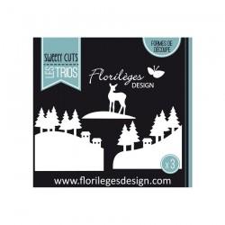 Fustella Florileges - PAYSAGES D'HIVER