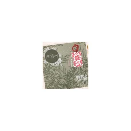 "Kit carte ModaScrap - PAPER PACK XMAS LE - 12X12"""