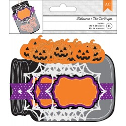 Jar Tag Kit - Halloween - American Crafts