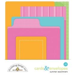 Cards & Envelopes (6 pezzi) - Doodlebug Design