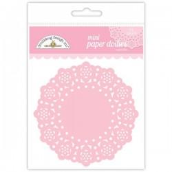 Ricami in Carta Doodlebug - Mini Paper Doilies - Cupcake