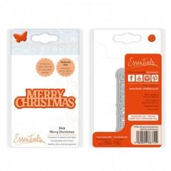 Fustella Tonic Studios - Merry Christmas cursive