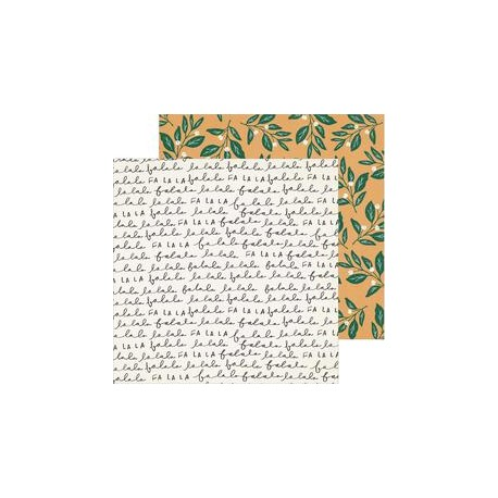 "Crate Paper 12"" x 12""  MERRY DAYS - Mistletoe"