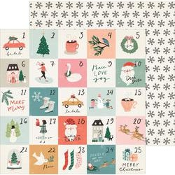 """Crate Paper 12"""" x 12""""  MERRY DAYS - Stockings"""