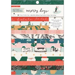 """Crate Paper 6X8"""" pad - MERRY DAYS"""