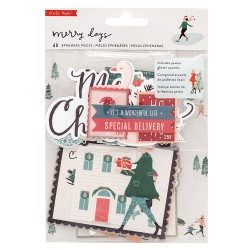 DIE CUTS - MERRY DAYS - Crate Paper