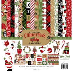 "Kit carte Echo Park 12x12"" - Celebrate Christmas"