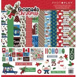 "Kit carte PhotoPlayPaper 12x12"" - O Canada Christmas"