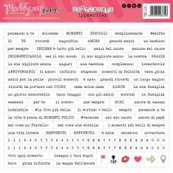 Stickers ModaScrap - SENTIMENTS TYPEWRITER