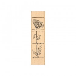 Timbro legno Florileges - PENSIERO PER TE