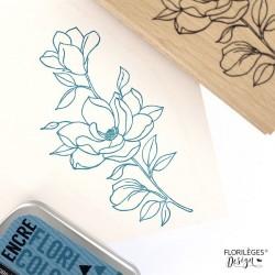Timbro legno Florileges - FLEUR ET BOUTONS