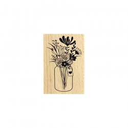 Timbro legno Florileges - GRAND BOUQUET