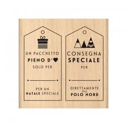 Timbro legno Florileges - CONSEGNA SPECIALE
