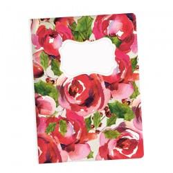 PIATEK13 - Rosy Cosy Christmas - Art journal A5