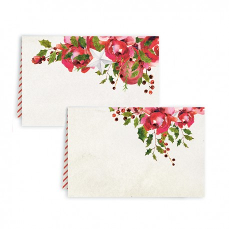 PIATEK13 - Rosy Cosy Christmas - Set of place cards
