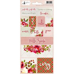 PIATEK13 - Rosy Cosy Christmas - Stickers 02