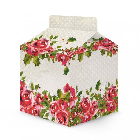 PIATEK13 - Cosy Rosy Christmas - Set of party boxes