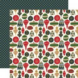 Carta Echo Park - Twas The Night Before Christmas - Joyful Ornaments