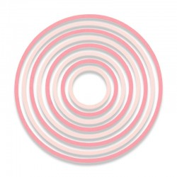 Fustella Sizzix Thinlits - Concentric Circles