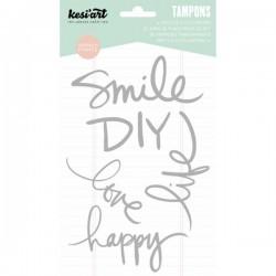 Timbri Kesi'art clear - Smile