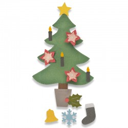 Fustella Sizzix Bigz PLUS Die - Christmas Tree 2