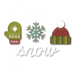 Fustella Sizzix Sidekick Side Tim Holtz - Order Set - Winter