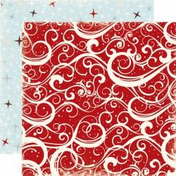 Carta Echo Park - Winter Time - RED SWIRLS