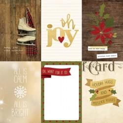Carta Simple Stories Cozy Christmas - 4x6 Horizontal Elements 2