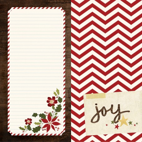 Carta Simple Stories Cozy Christmas - 6x12 Elements
