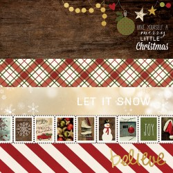Carta Simple Stories Cozy Christmas - Borders & Elements