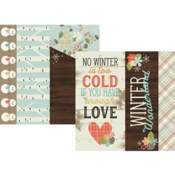 Carta Simple Stories Winter Wonderland - Elements