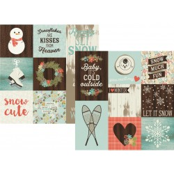 Carta Simple Stories Winter Wonderland - Vertical Journaling Elements