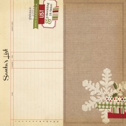 Carta Simple Stories Handmade Holiday - Page Elements
