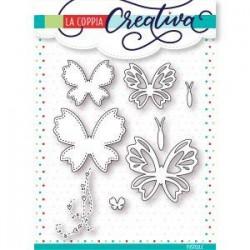 Fustella La Coppia Creativa - Farfalle