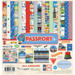 Kit carte Carta Bella - Passport Collection Kit