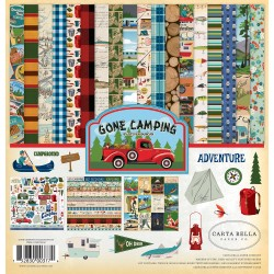 Kit carte Carta Bella - Gone Camping Collection Kit