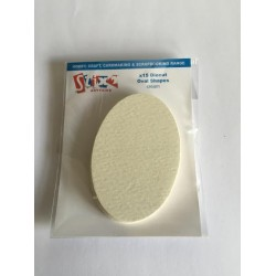 Die Cut Oval Shapes - 15 pezzi - Cream - Stx2