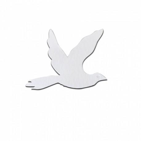 Die Cut Bird Shapes - 15 pezzi - Bianco - Stix2
