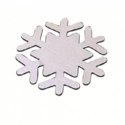 Die Cut Snowflake - 15 pezzi - Bianco - Stix2